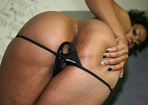 pretty ebony goddess goes white at a public restroom from Gloryhole Initiations