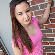 Petite oriental hottie Kita Zen visiting a dirty glory hole from Gloryhole Initiations